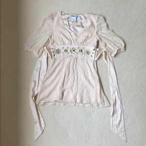 Marciano Silk Minidress